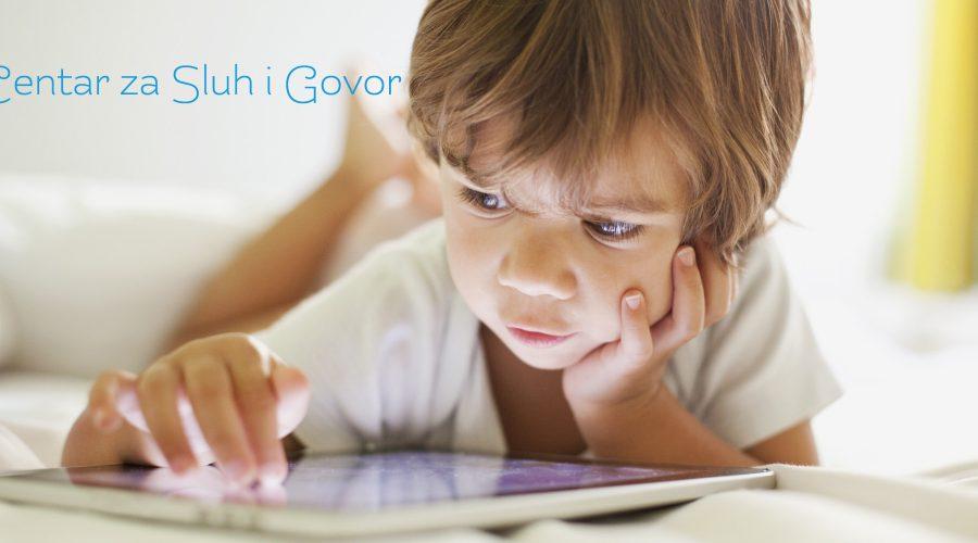 Upotreba smart uređaja i razvitak govora